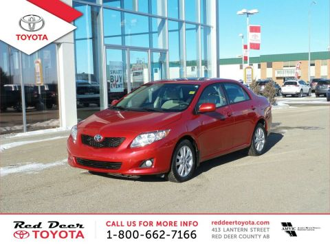 Pre-Owned 2009 Toyota Corolla 4dr Sdn Auto LE Front Wheel Drive 4 Door Car