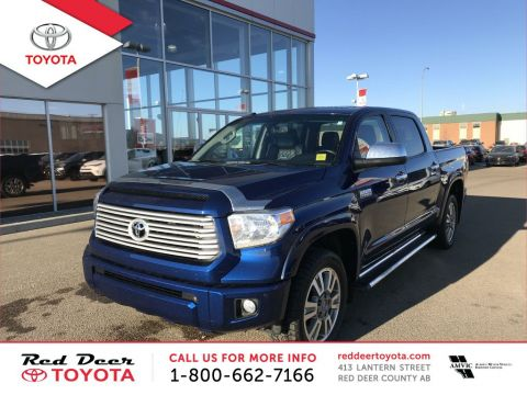 Pre-Owned 2015 Toyota Tundra 4WD Crewmax 146 5.7L Platinum Four Wheel Drive 4 Door Pickup