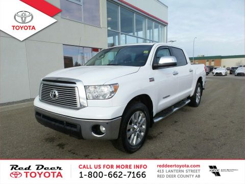 Pre-Owned 2013 Toyota Tundra 4WD Crewmax 146 5.7L Platinum Four Wheel Drive 4 Door Pickup