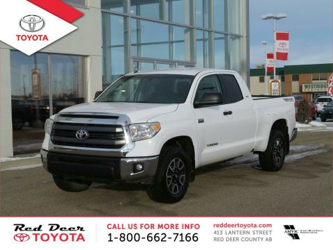 Certified Pre-Owned 2015 Toyota Tundra 4WD Double Cab 146 5.7L SR Four Wheel Drive 4 Door Pickup
