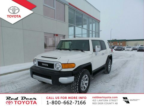 Certified Pre-Owned 2014 Toyota FJ Cruiser 4WD 4dr Auto Four Wheel Drive 4 Door Sport Utility