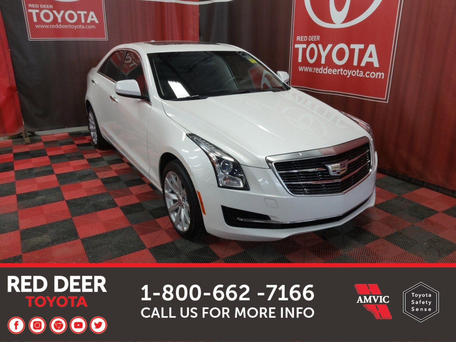Pre-Owned 2018 Cadillac ATS Sedan AWD 2.0 TURBO