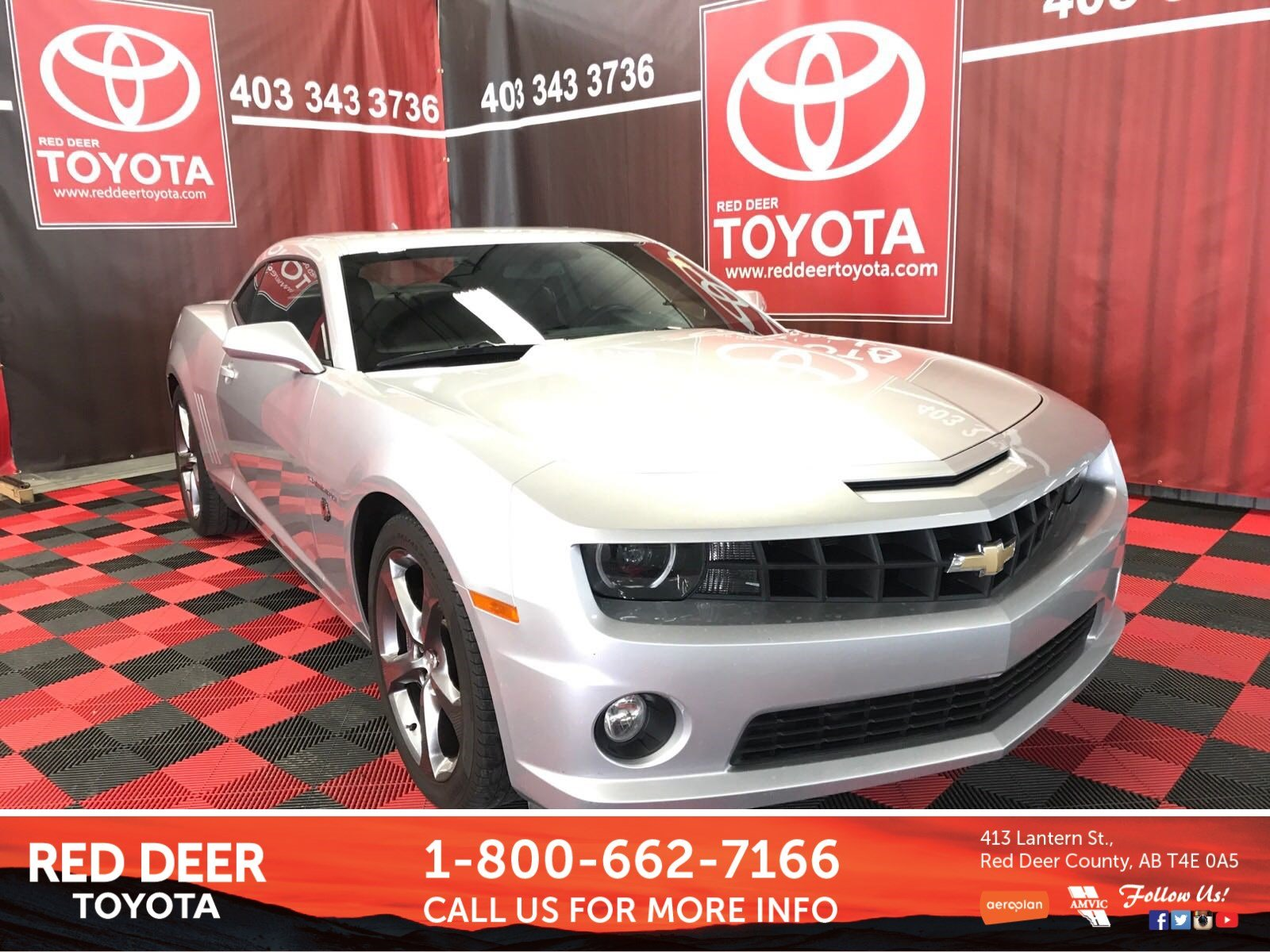 Pre-Owned 2013 Chevrolet Camaro 2SS RWD 2dr Car