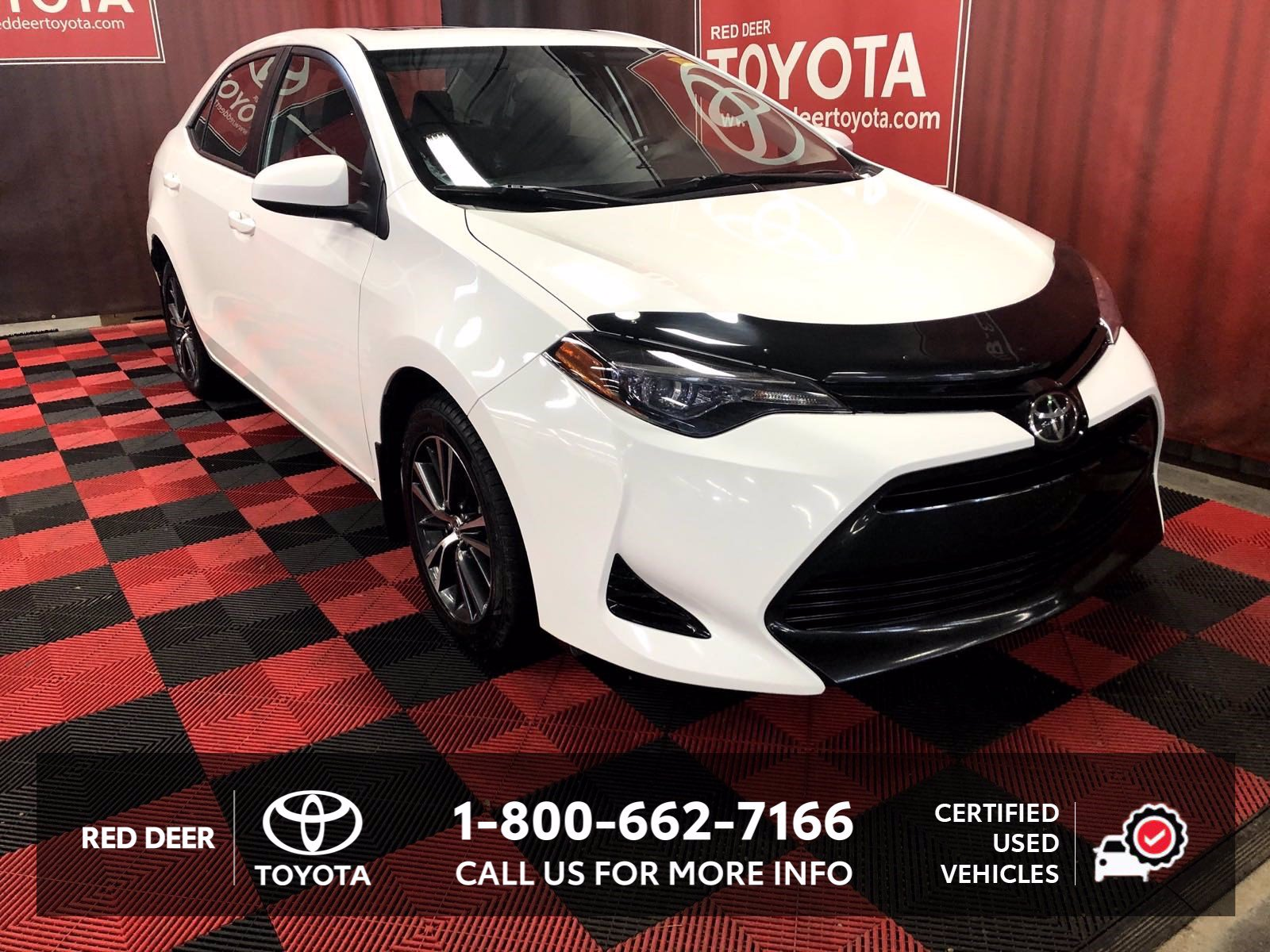 Certified Pre-Owned 2017 Toyota Corolla LE +