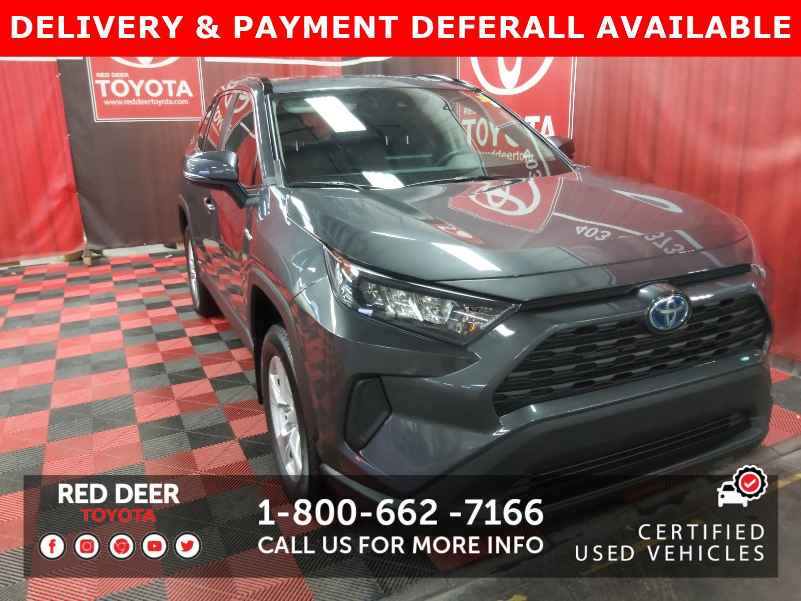 Certified Pre-Owned 2019 Toyota RAV4 Hybrid LE - SAVE THE GST!