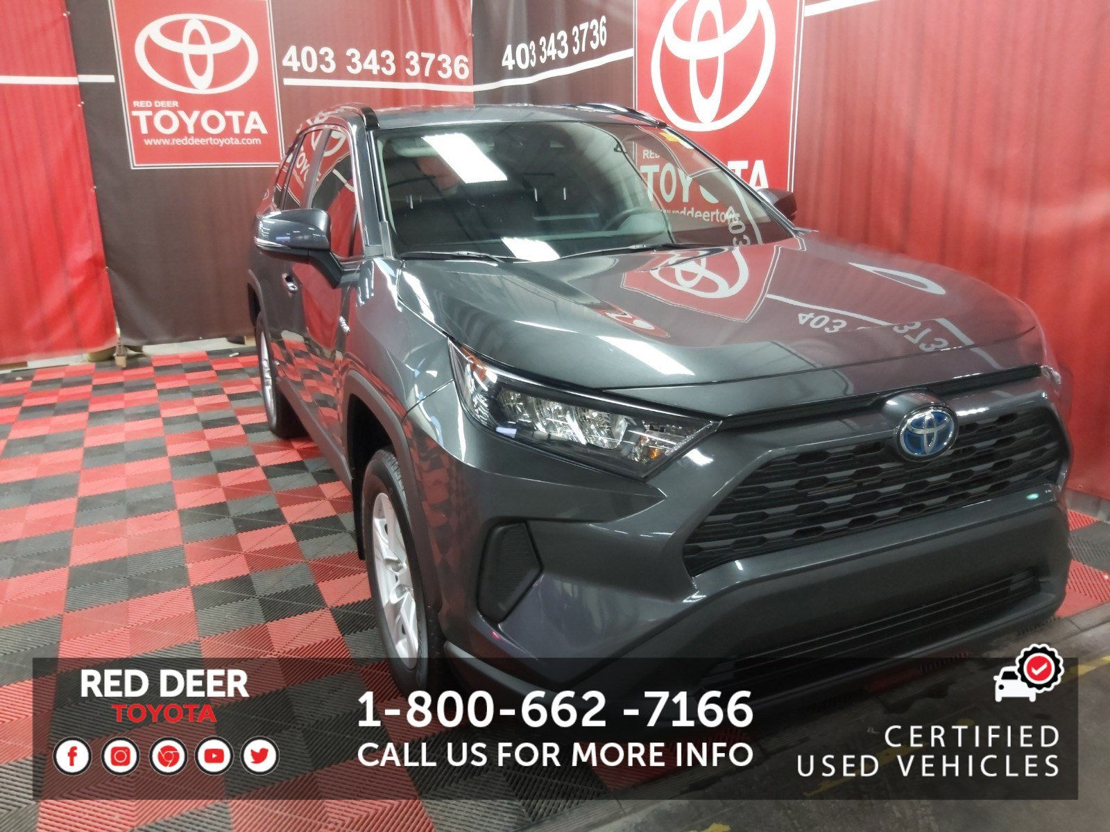 Certified Pre-Owned 2019 Toyota RAV4 Hybrid LE AWD