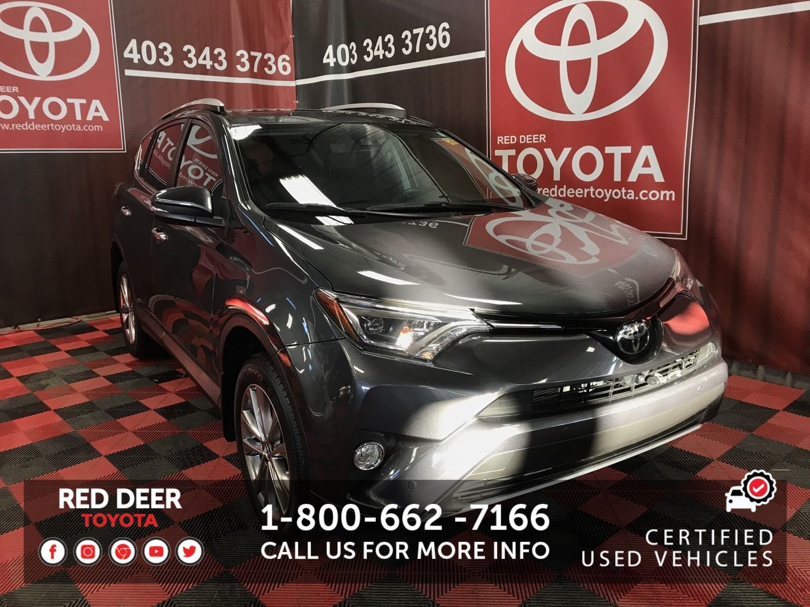 Certified Pre-Owned 2016 Toyota RAV4 Limited AWD