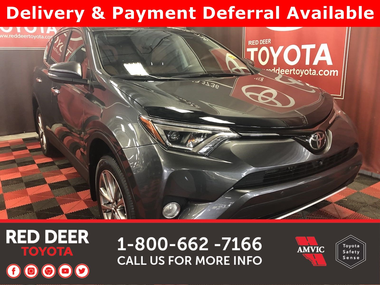 Pre-Owned 2016 Toyota RAV4 Limited - 3 PAYMENTS ON US !