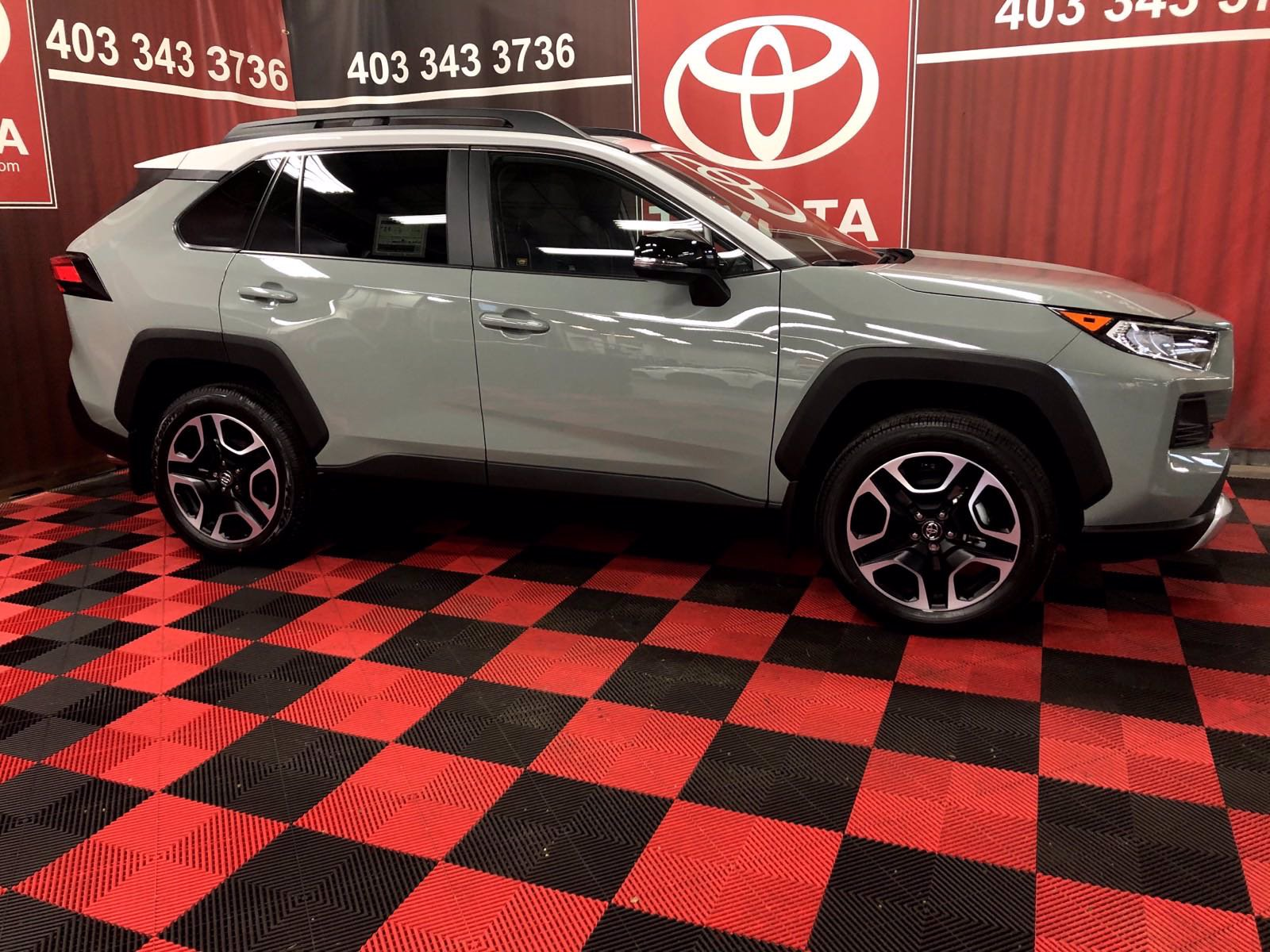 New 2020 Toyota RAV4 Trail AWD