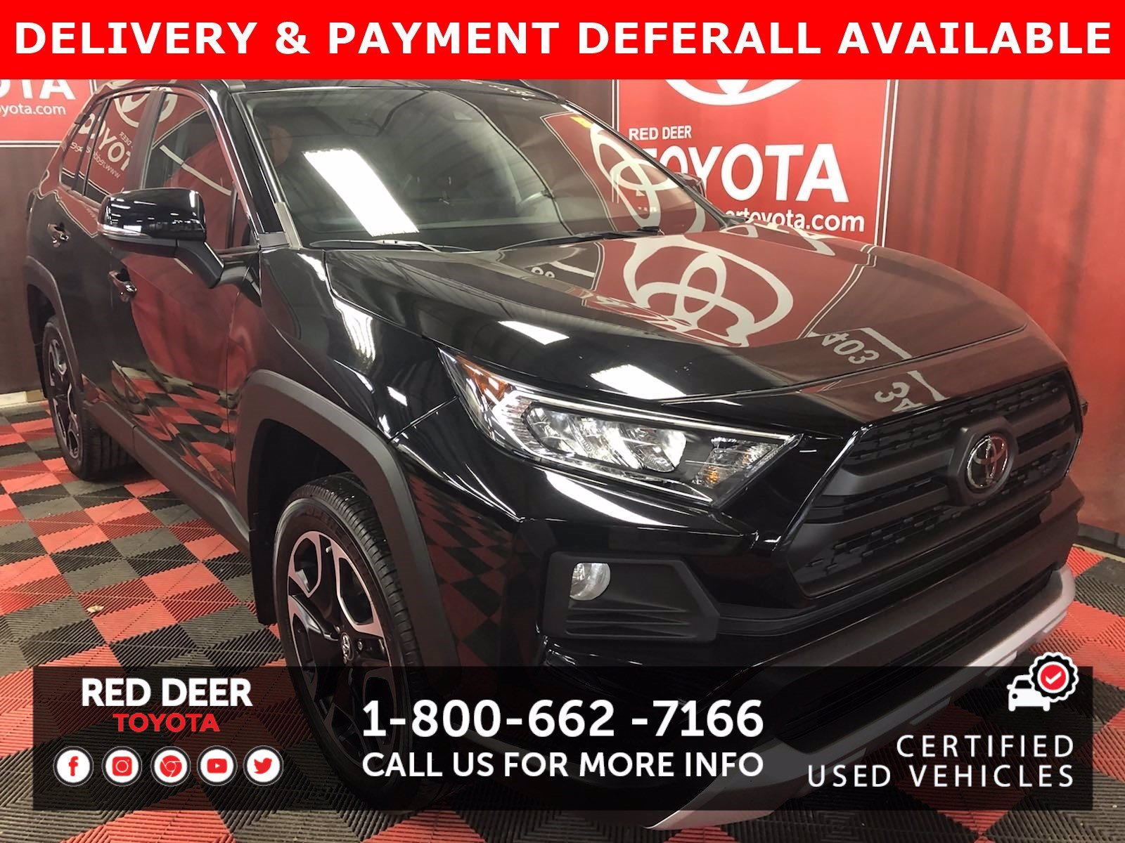 Certified Pre-Owned 2019 Toyota RAV4 Trail