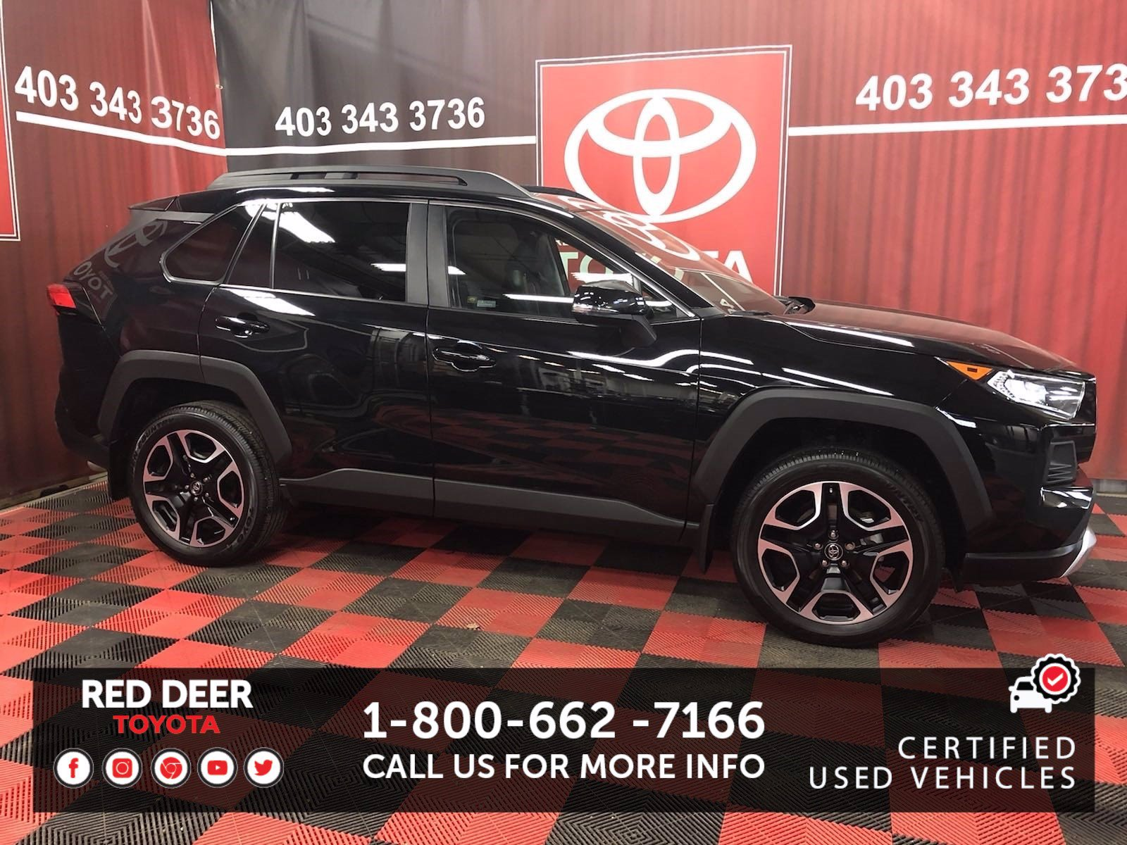 Certified Pre-Owned 2019 Toyota RAV4 Trail AWD