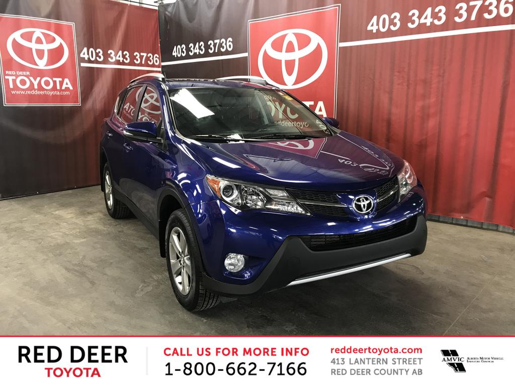 Pre-Owned 2015 Toyota RAV4 AWD 4dr XLE & Pre-Owned 2015 Toyota RAV4 AWD 4dr XLE 4 Door Sport Utility in Red ...