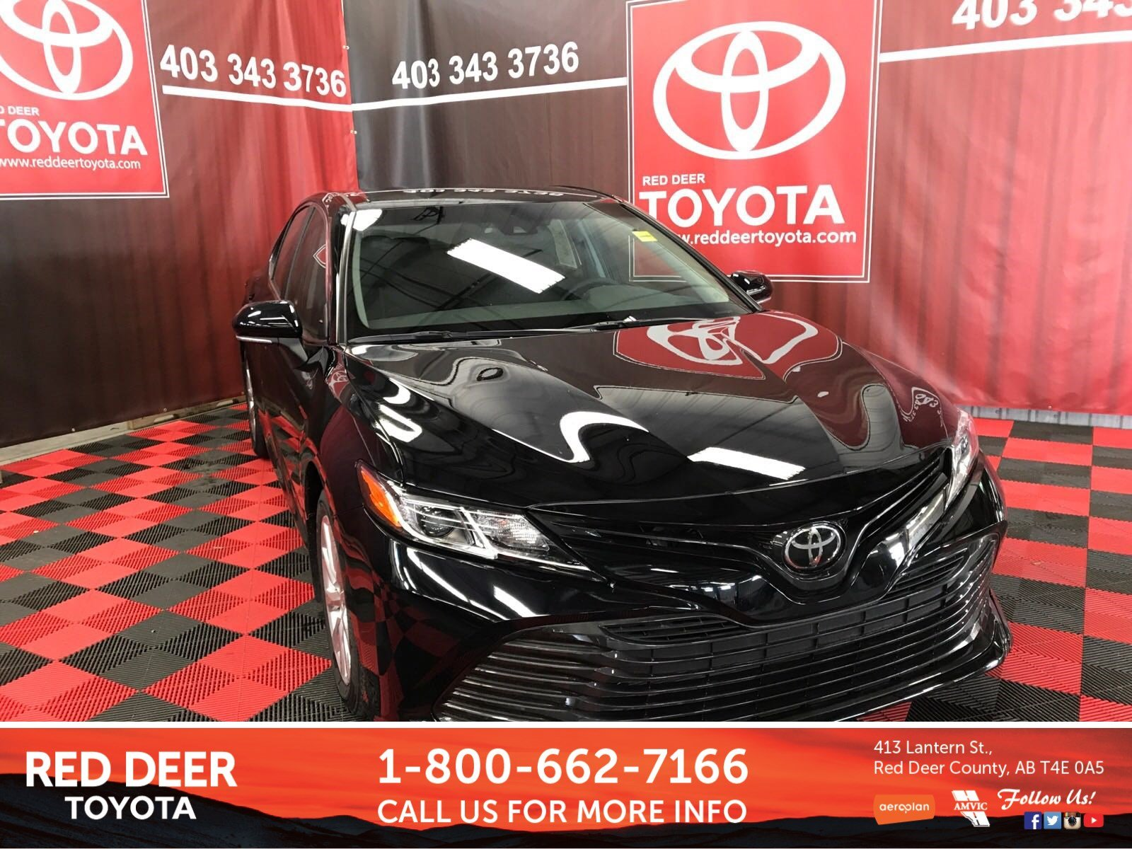 Pre Owned 2018 Toyota Camry Le 4dr Car In Red Deer County J3005