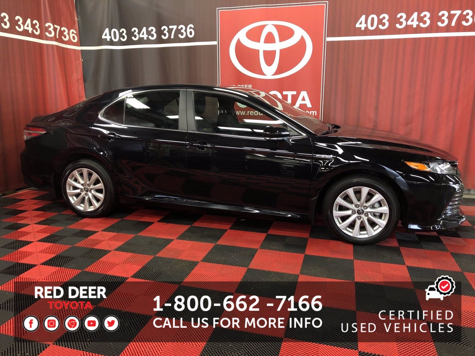 Certified Pre-Owned 2018 Toyota Camry Hybrid LE FWD 4dr Car