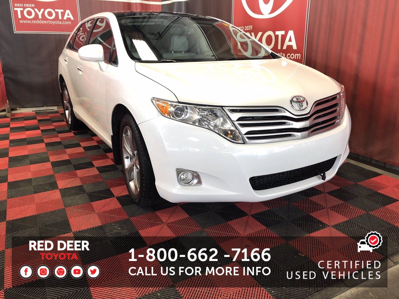 Pre-Owned 2012 Toyota Venza 4DR V6 AWD WGN