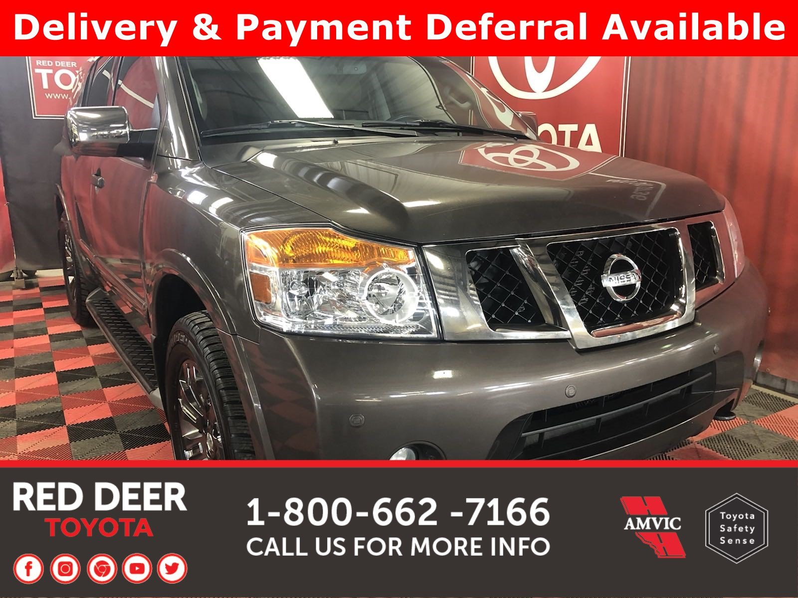 Pre-Owned 2015 Nissan Armada Platinum Edition - SAVE THE GST!