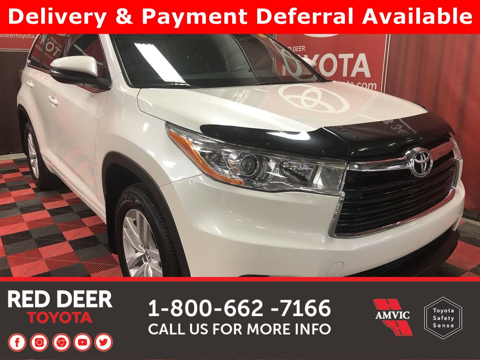 Pre-Owned 2014 Toyota Highlander LE - 3 PAYMENTS ON US !