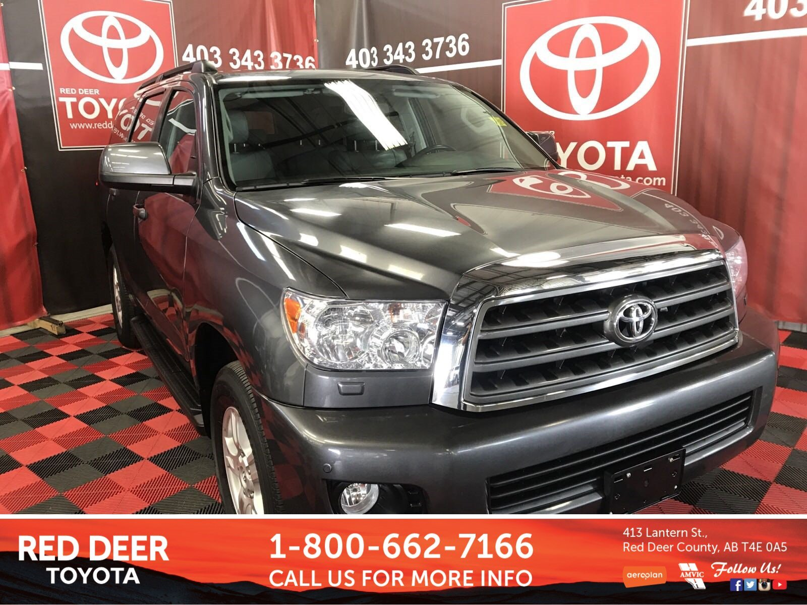 Pre Owned 2017 Toyota Sequoia SR5 Sport Utility in Red Deer County