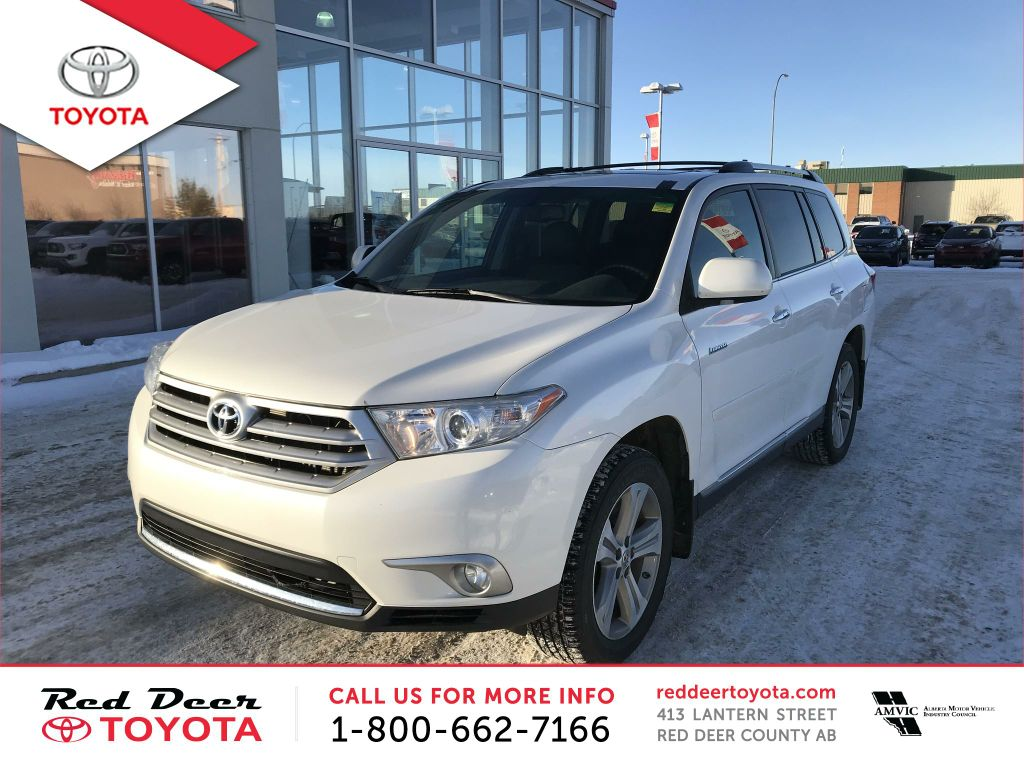 Pre-Owned 2012 Toyota Highlander 4WD 4dr Limited
