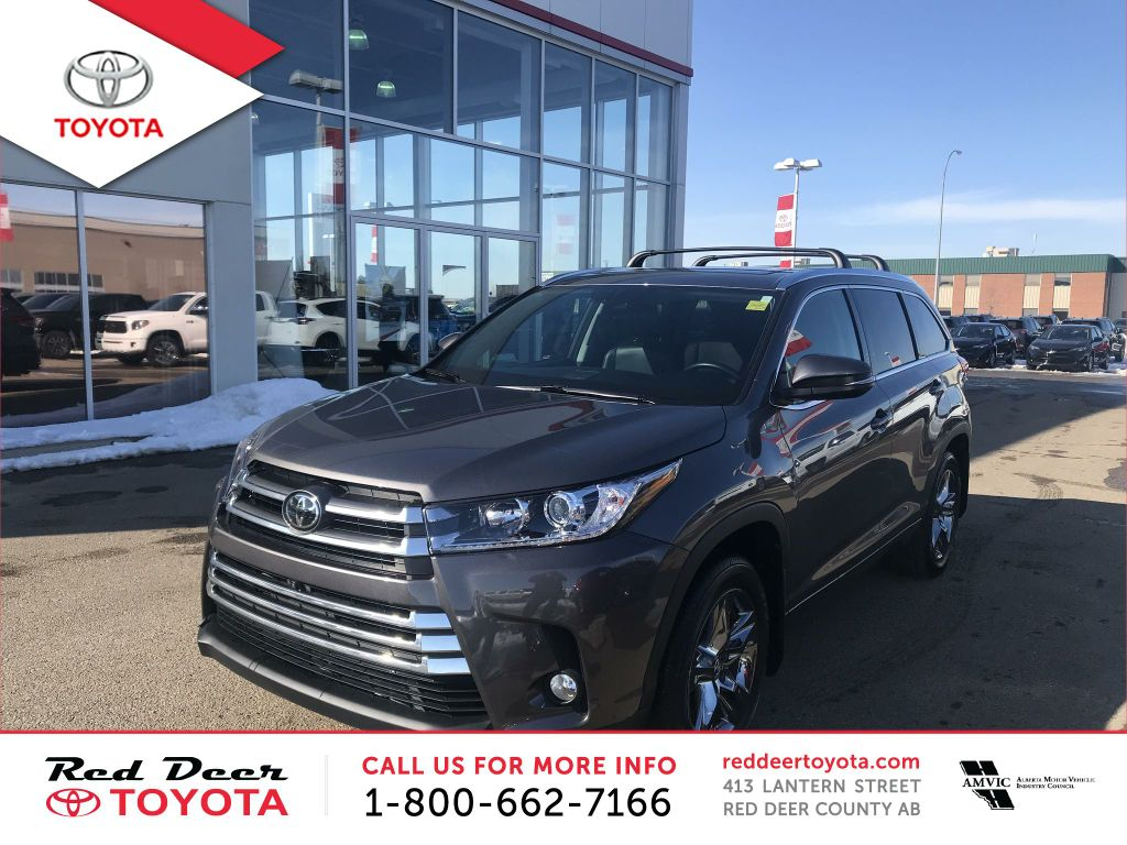 Pre-Owned 2017 Toyota Highlander AWD 4dr Limited