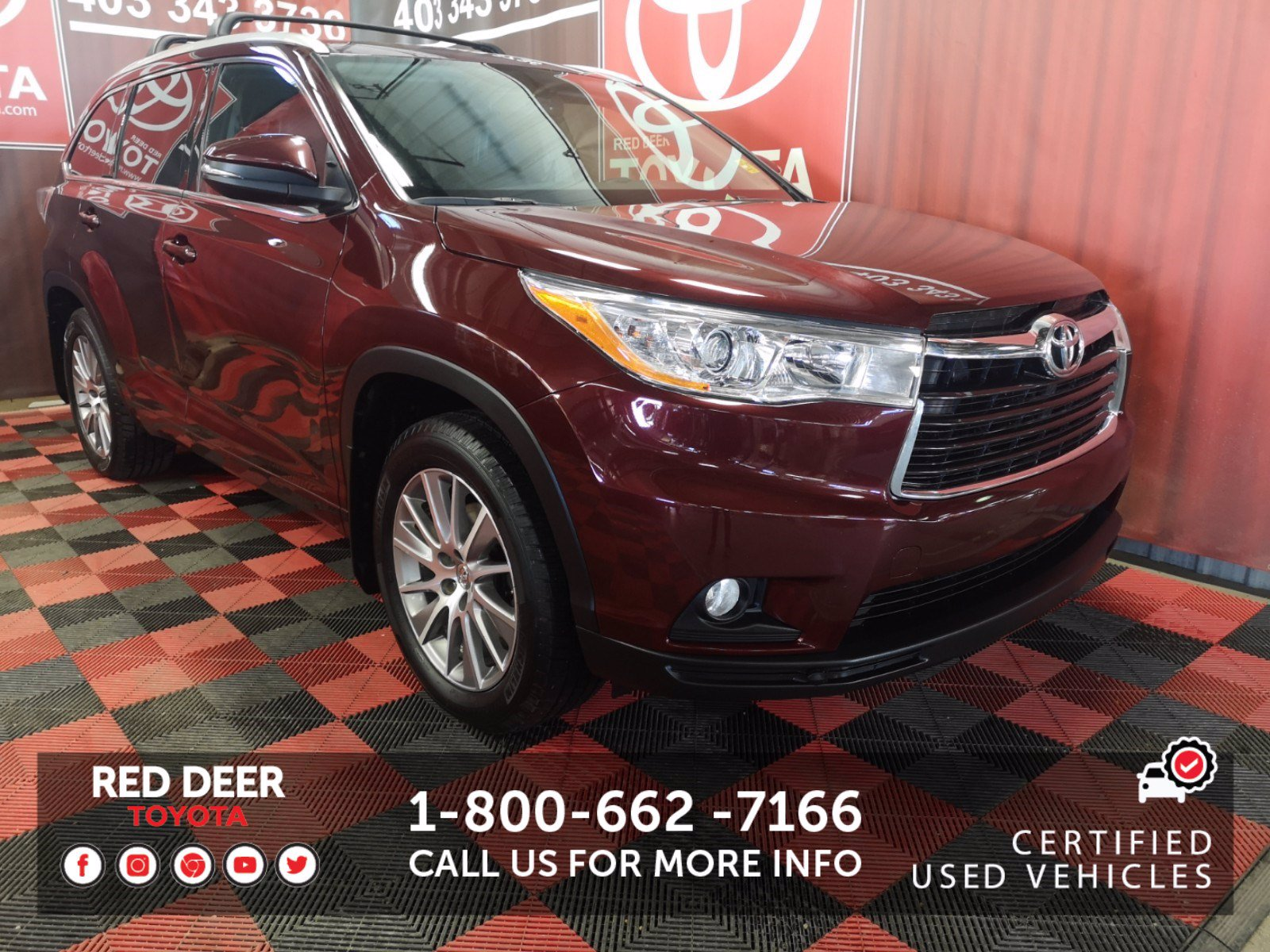 Certified Pre-Owned 2015 Toyota Highlander XLE