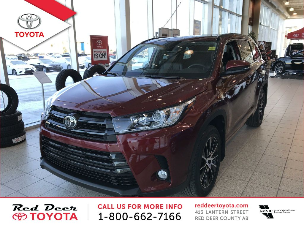 New 2018 Toyota Highlander AWD XLE