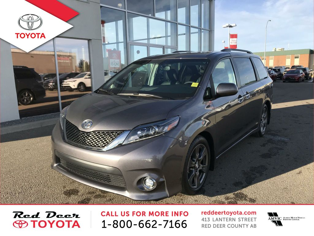 New 2017 Toyota Sienna 5dr SE 8-Pass FWD
