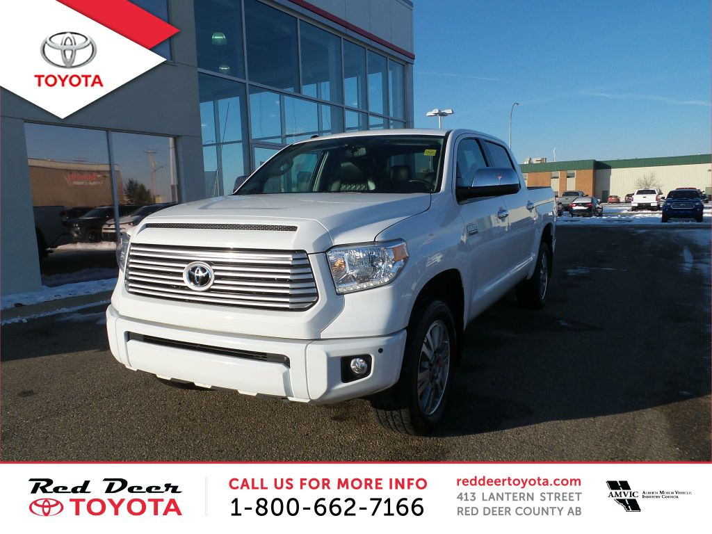 Pre-Owned 2015 Toyota Tundra 4WD Crewmax 146 5.7L Platinum