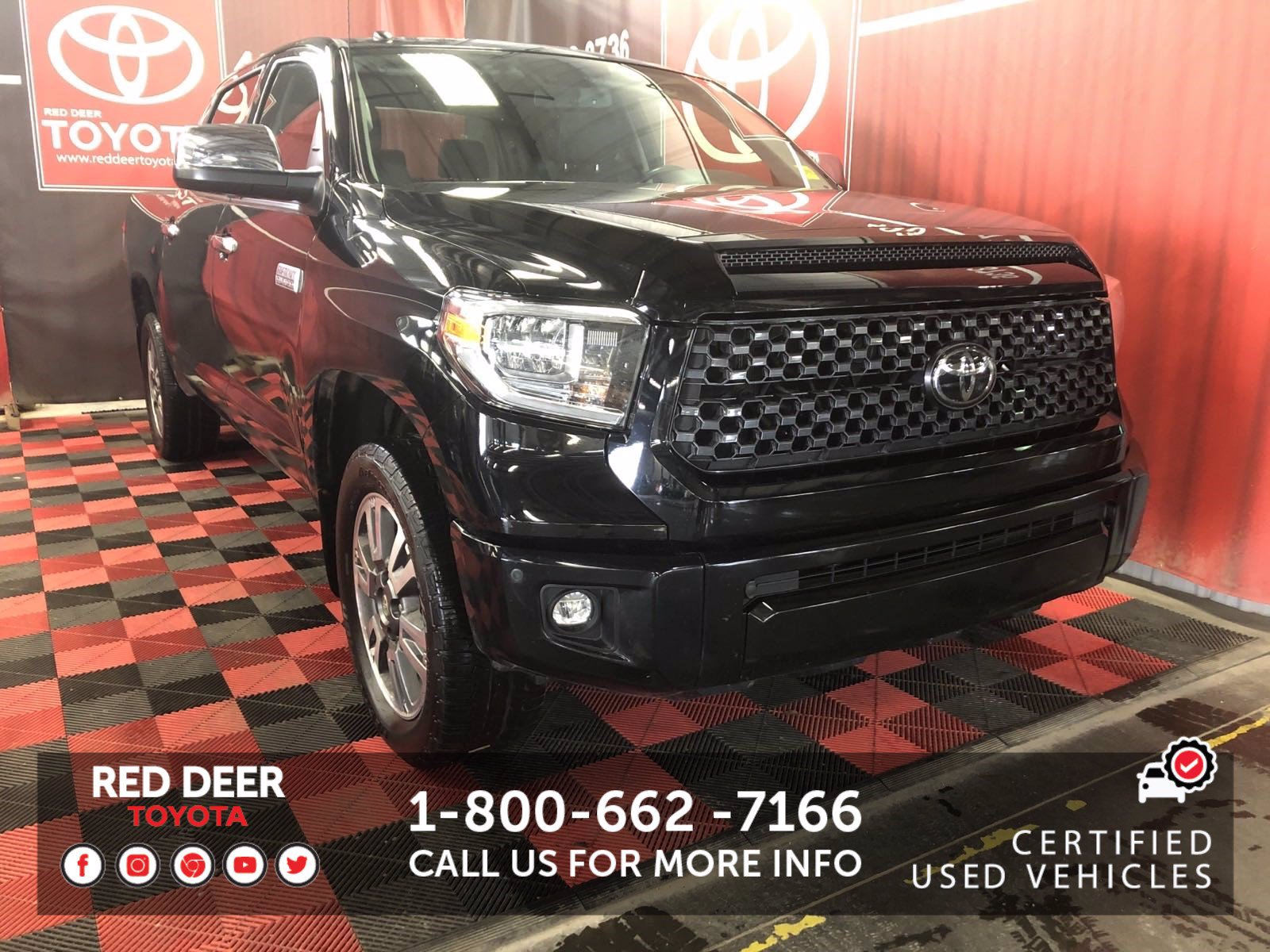 Certified Pre-Owned 2018 Toyota Tundra Platinum With Navigation & 4WD
