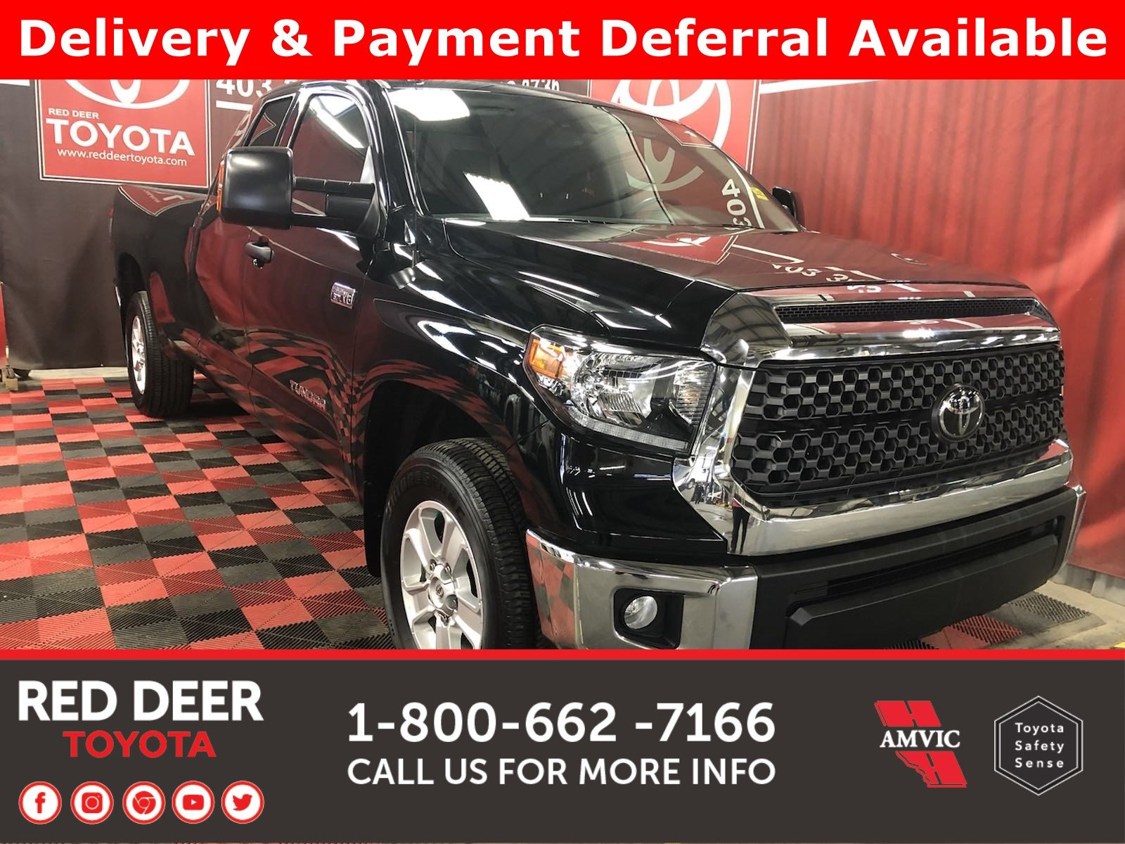 Pre-Owned 2018 Toyota Tundra SR5 Plus W/T 8ft Box - 3 PAYMENTS ON US !