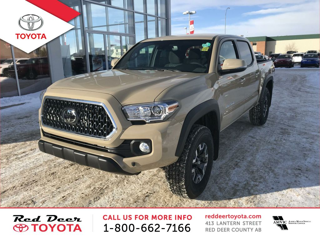 New 2018 Toyota Tacoma 4x4 Double Cab V6 Manual TRD Sport