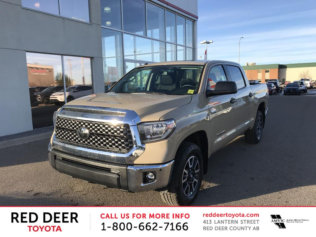 New 2018 Toyota Tundra 4x4 Crewmax SR5 Plus 5.7L