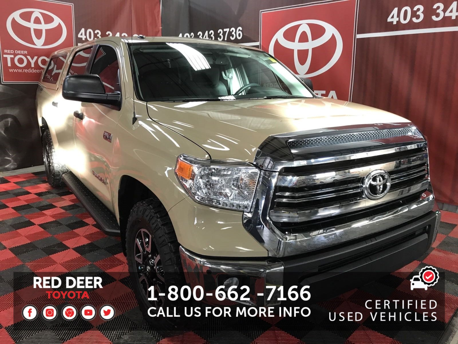 Certified Pre Owned 2017 Toyota Tundra Trd Off Road Crewmax