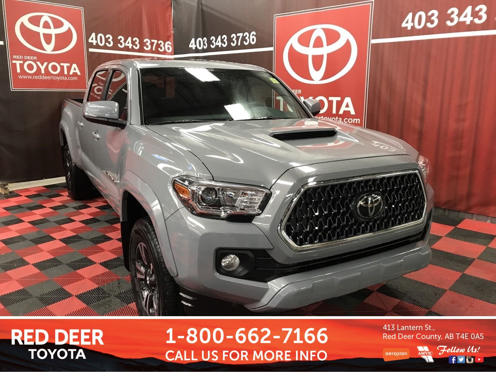New 2019 Toyota Ta a SR5 Double Cab in Red Deer County K7041
