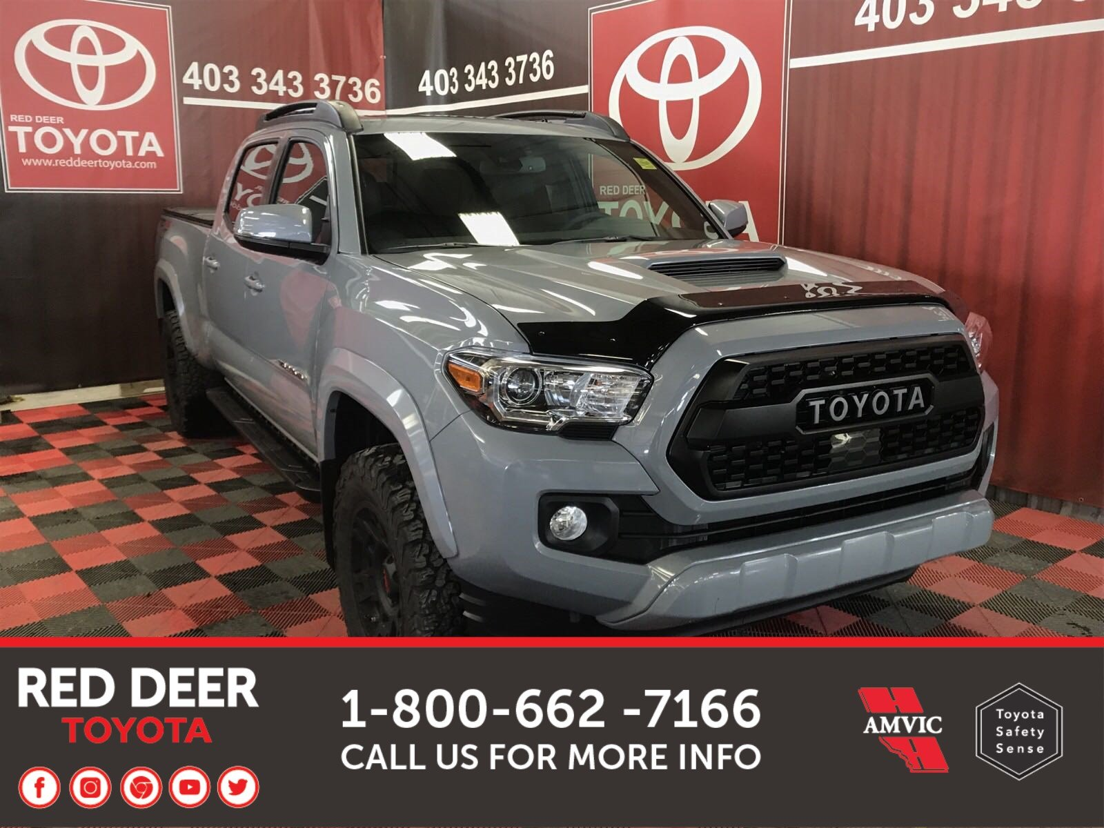 New 2019 Toyota Tacoma TRD SPORT With Navigation & 4WD