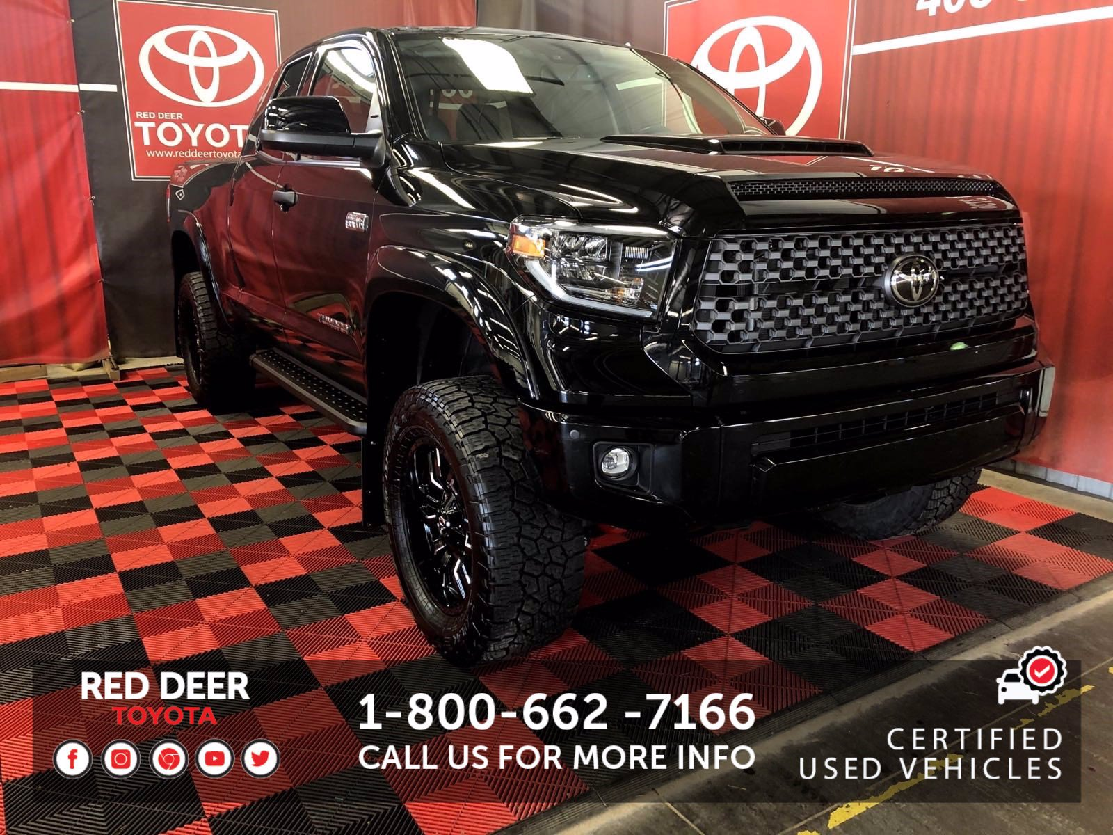 Pre-Owned 2020 Toyota Tundra CUSTOM TRD Sport Premium 4WD