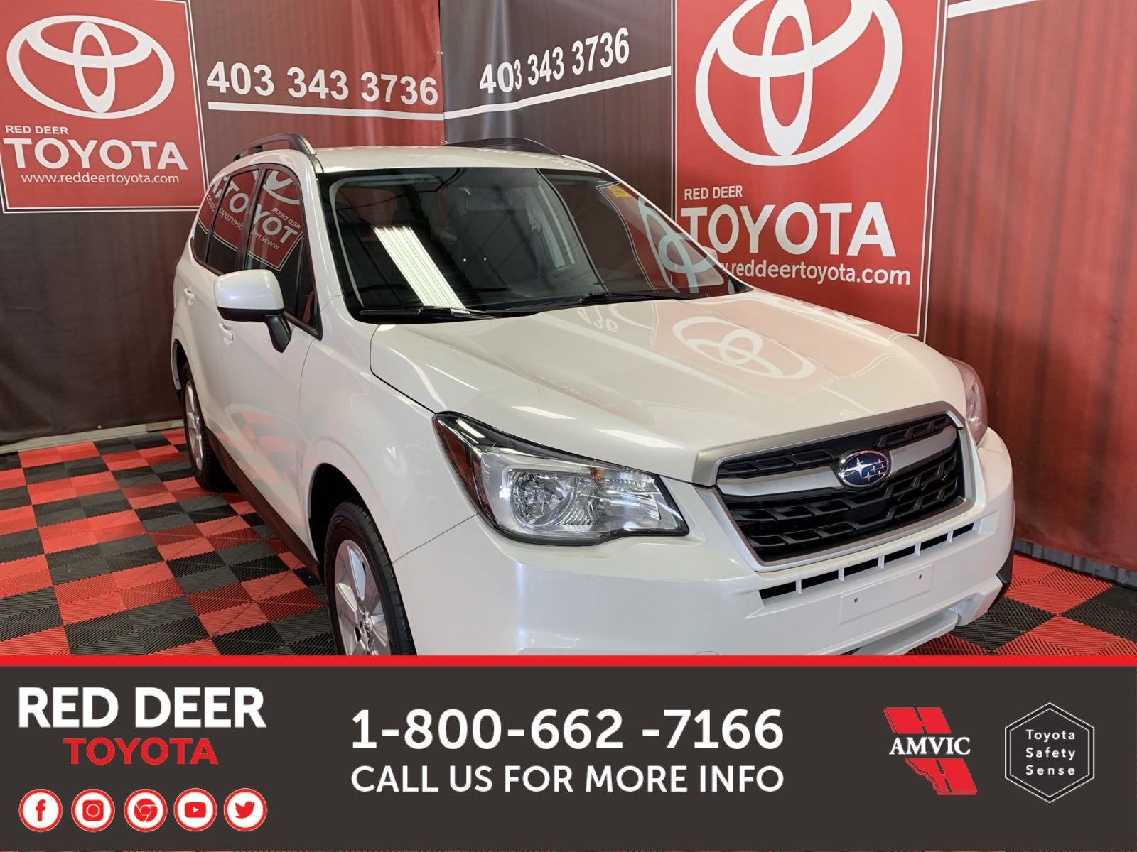 Pre-Owned 2017 Subaru Forester i Convenience