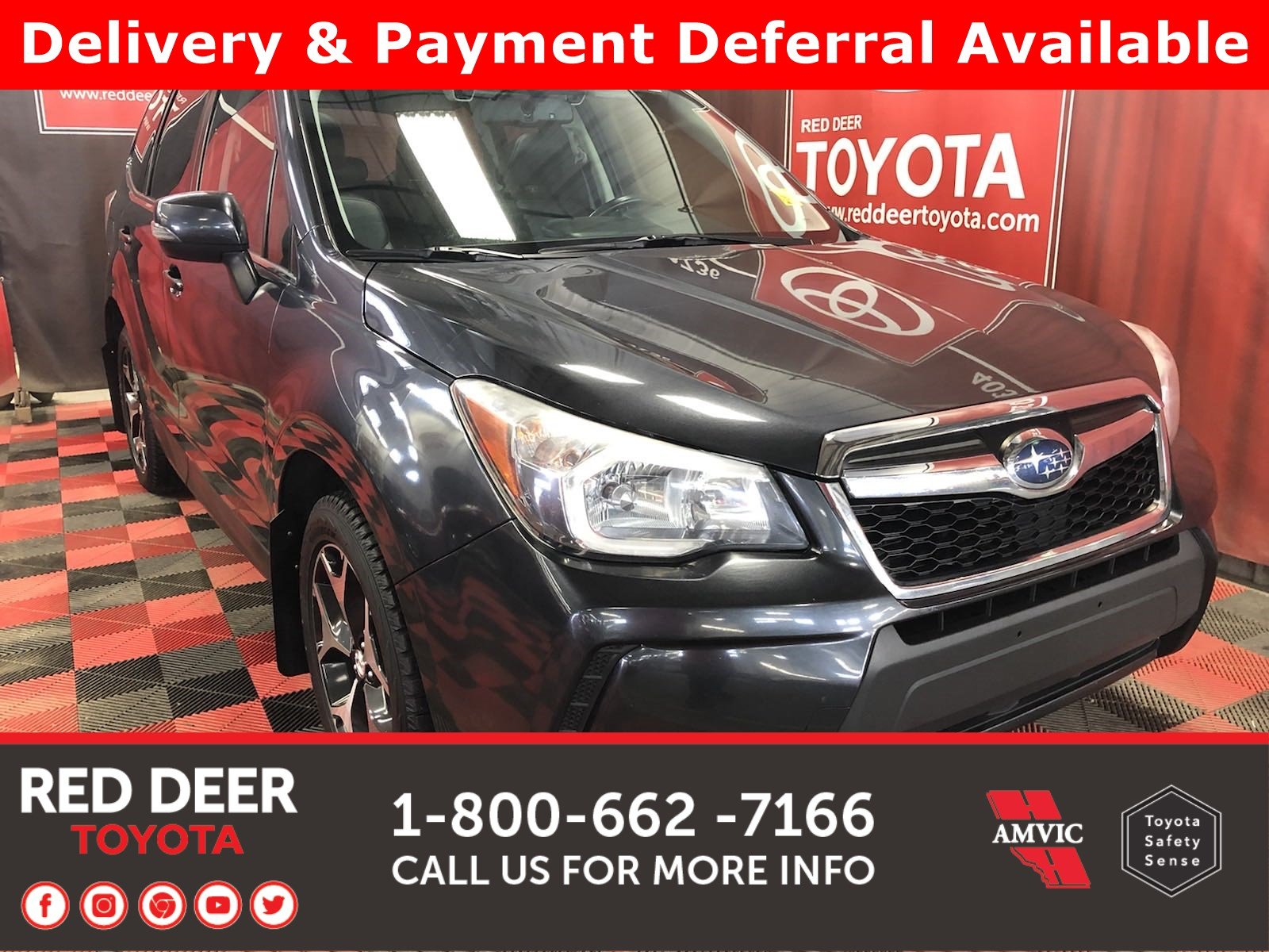 Pre-Owned 2015 Subaru Forester XT Touring w/Tech Pkg - 3 PAYMENTS ON US !