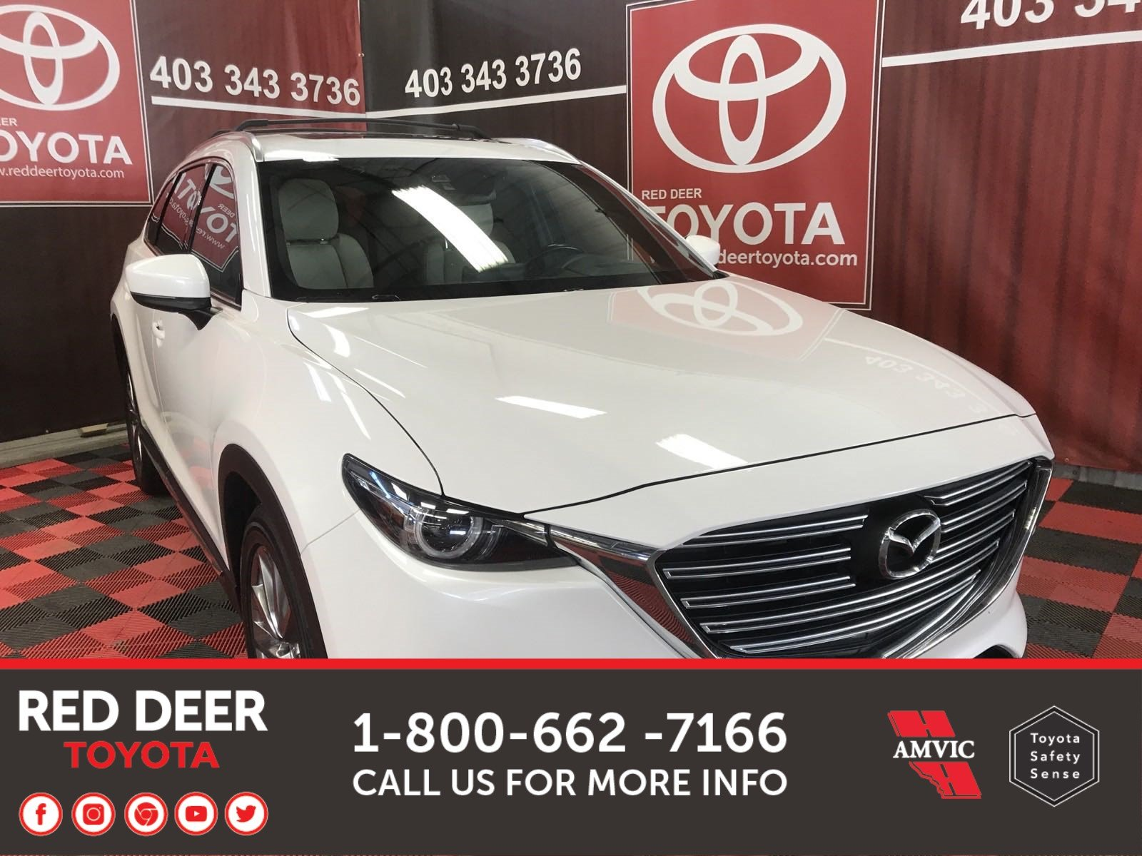 Pre-Owned 2017 Mazda CX-9 GT - 7 Passenger With Navigation & AWD