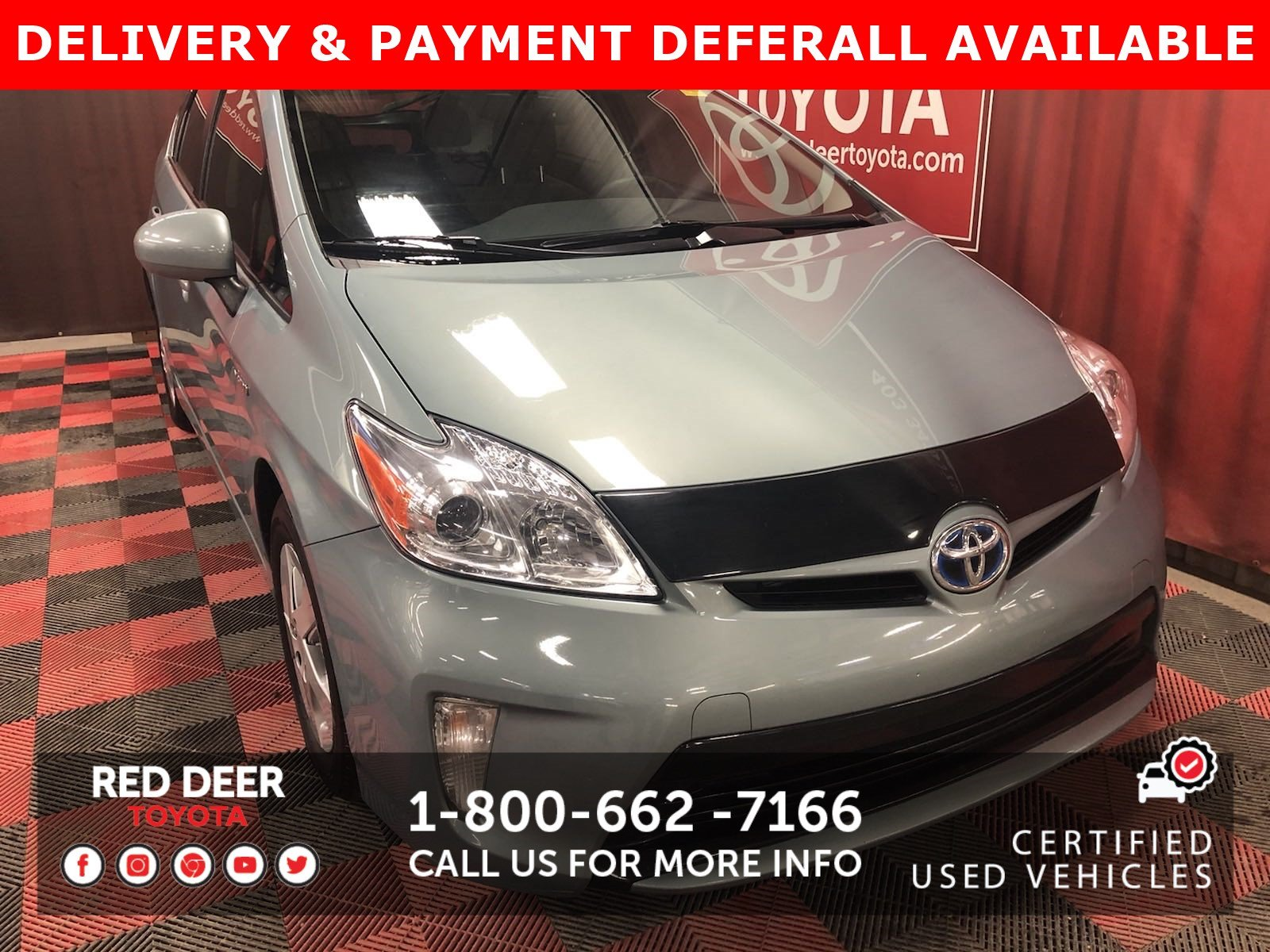 Certified Pre-Owned 2015 Toyota Prius + Moonroof Package - SAVE THE GST!