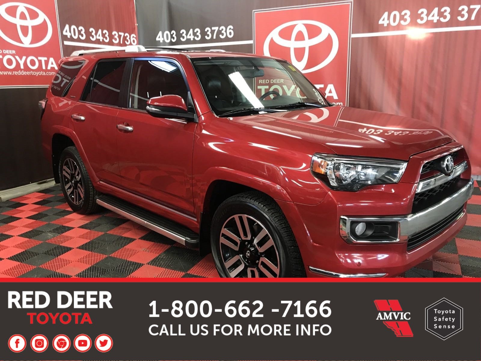 Pre-Owned 2015 Toyota 4Runner Limited 5 Passenger