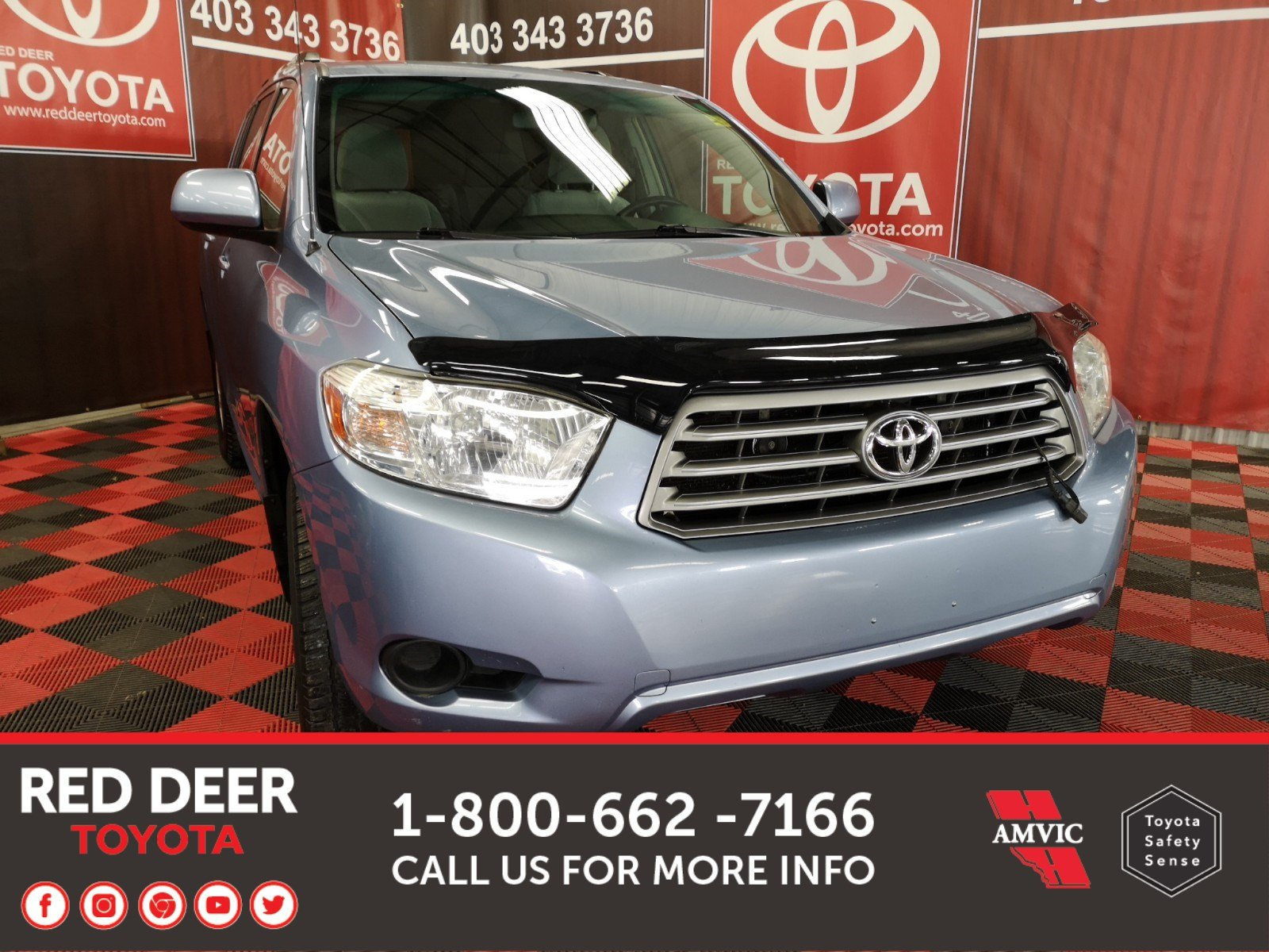 Pre-Owned 2008 Toyota Highlander LE AWD