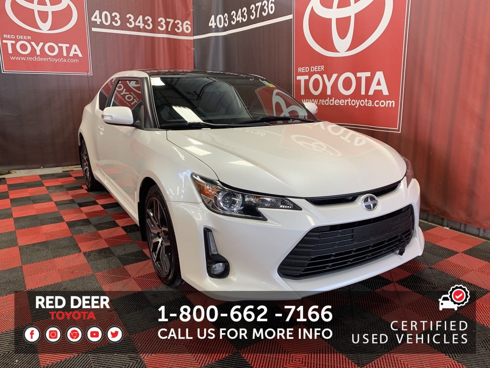 Certified Pre-Owned 2015 Scion TC COUPE MANUAL ! FWD 2dr Car