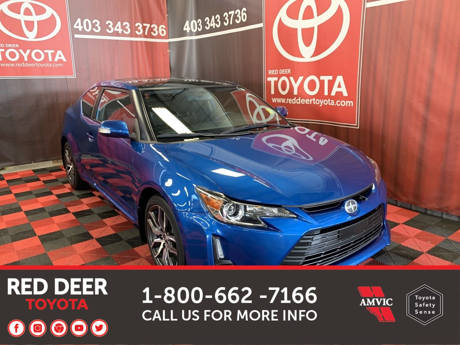 Pre-Owned 2016 Scion tC 2DR AT FWD 2dr Car