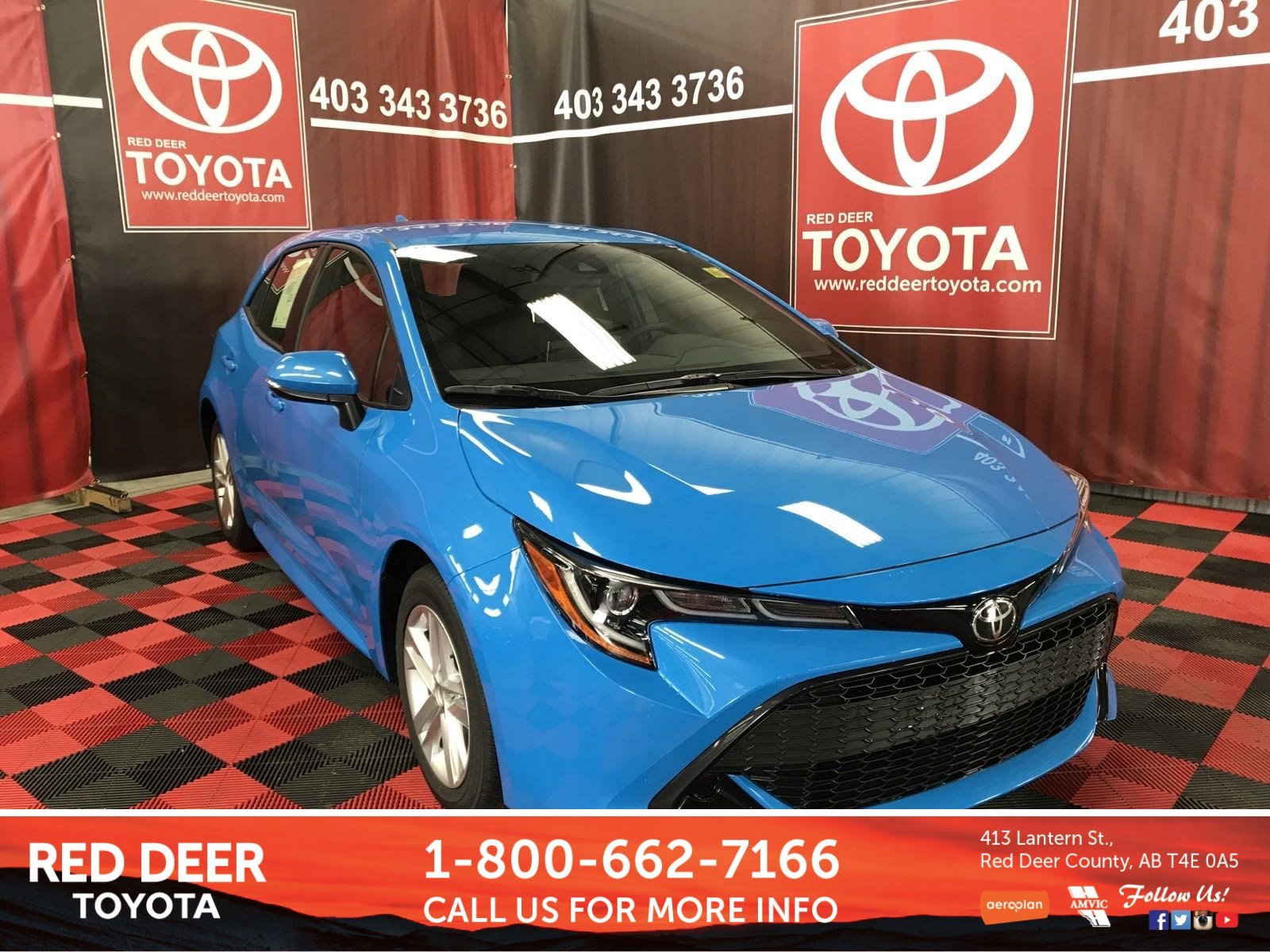 New 2019 Toyota Corolla Hatchback Hatchback in Red Deer County