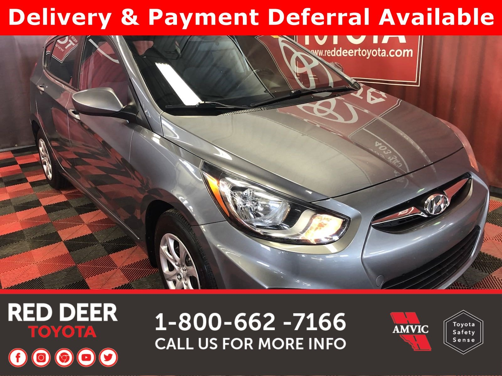 Pre-Owned 2014 Hyundai Accent GL - 3 PAYMENTS ON US !