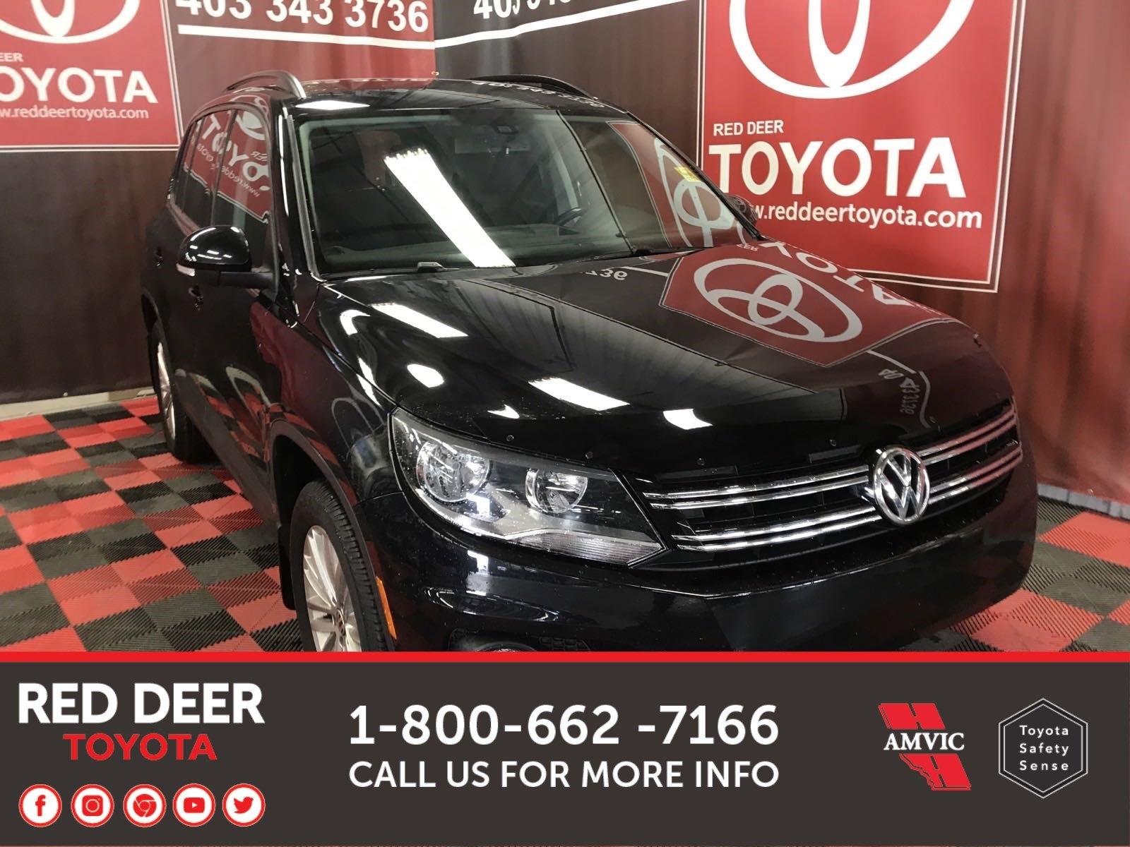 Pre-Owned 2016 Volkswagen Tiguan Special Eddition AWD