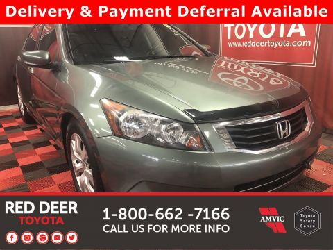 Pre-Owned 2010 Honda Accord Sedan EX-L - SAVE THE GST!