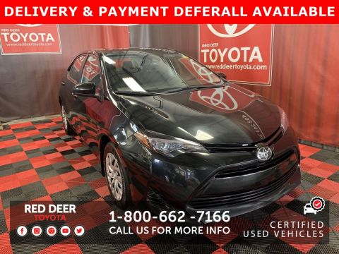 Certified Pre-Owned 2018 Toyota Corolla LE - SAVE THE GST!
