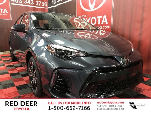 New 2018 Toyota Corolla SE CVT Front Wheel Drive 4 Door Car